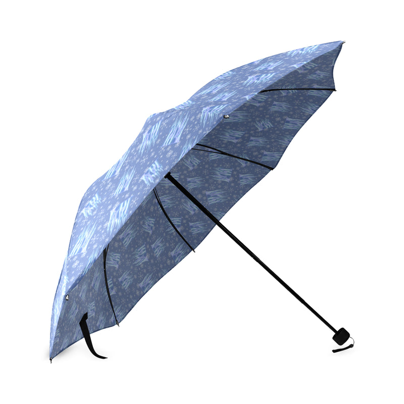 Ice Castles Foldable Umbrella - Ambrie