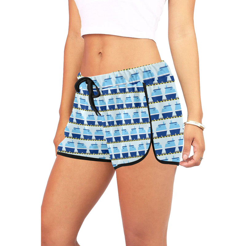 People Watching Women's Relaxed Shorts - Ambrie