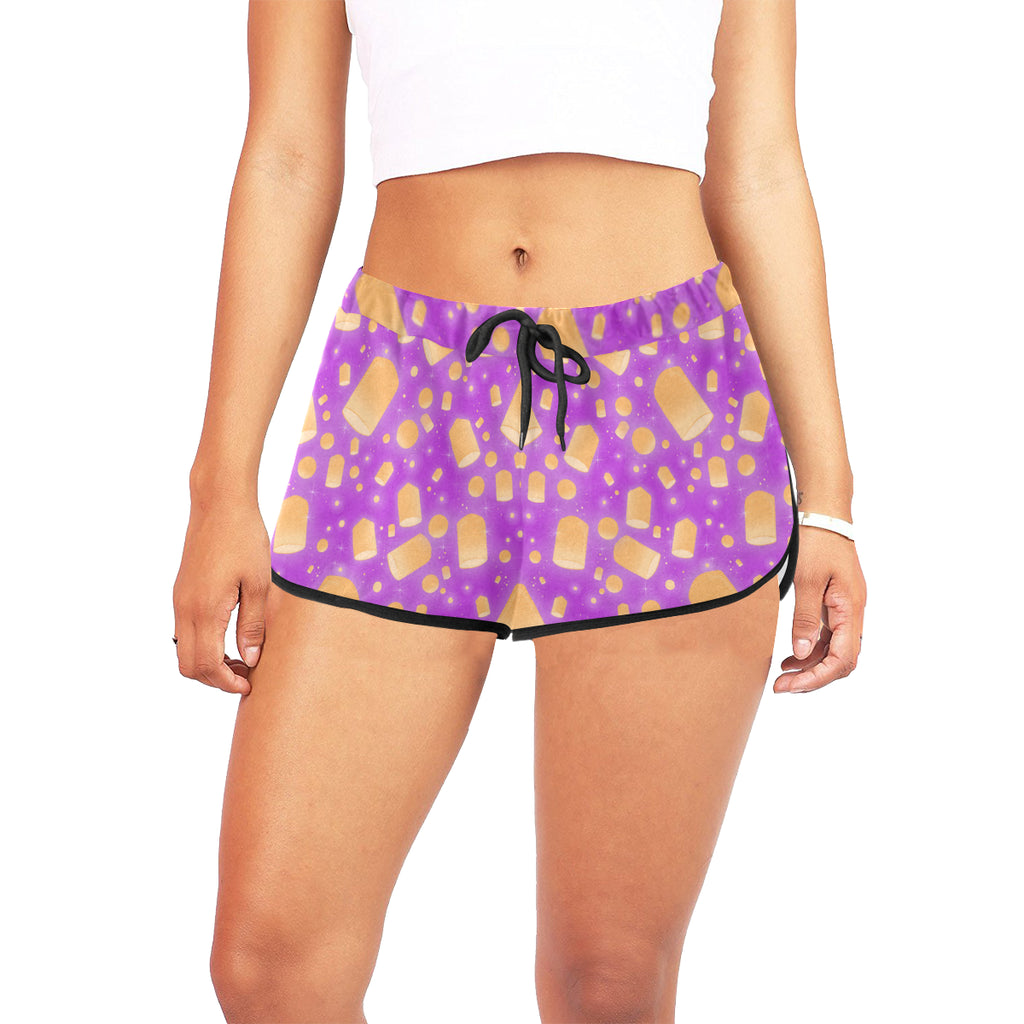 Flying Lanterns Women's Relaxed Shorts