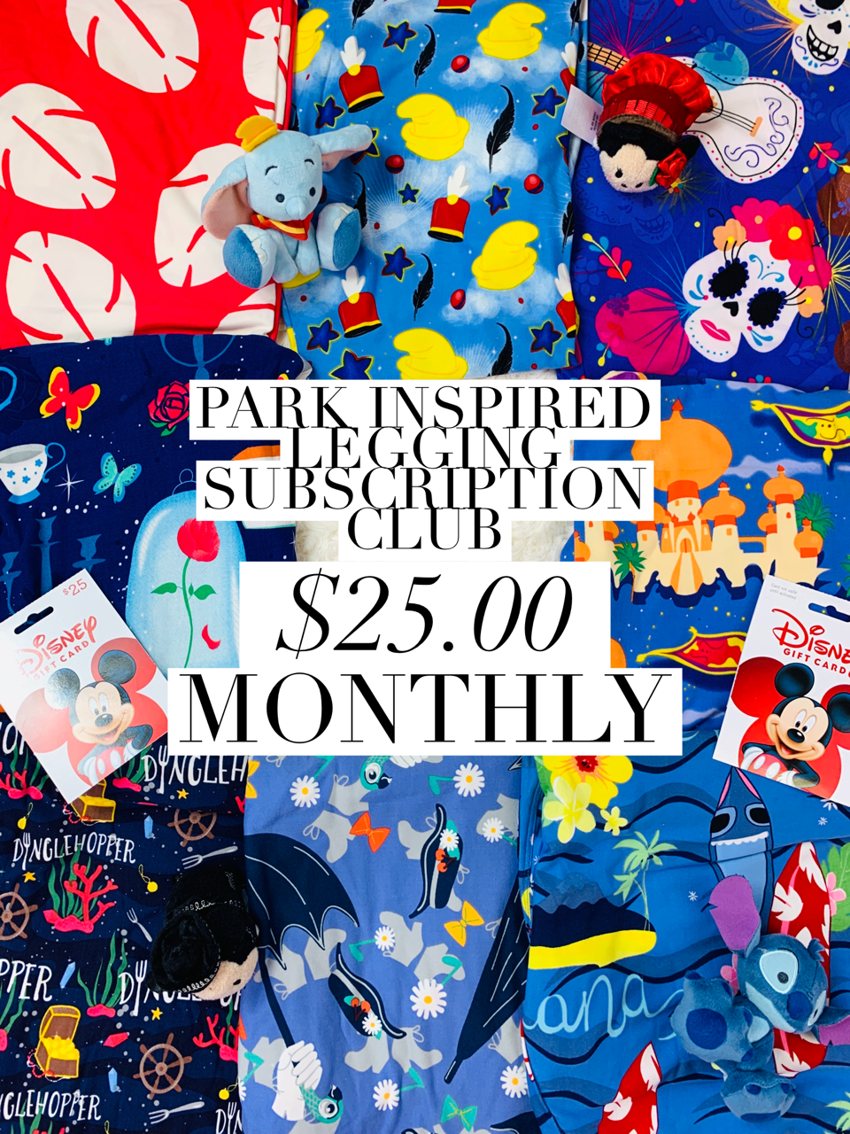 Park Inspired Leggings Subscription Club - Monthly Subscription - Ambrie