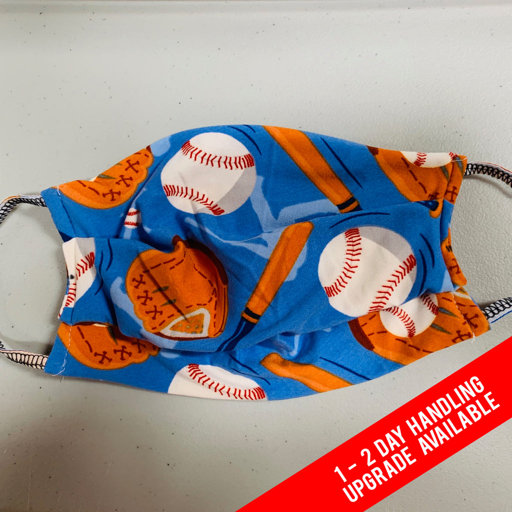 Baseball Legging Material Face Mask