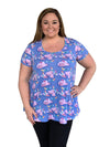 Mermaid Lagoon Tunic Top