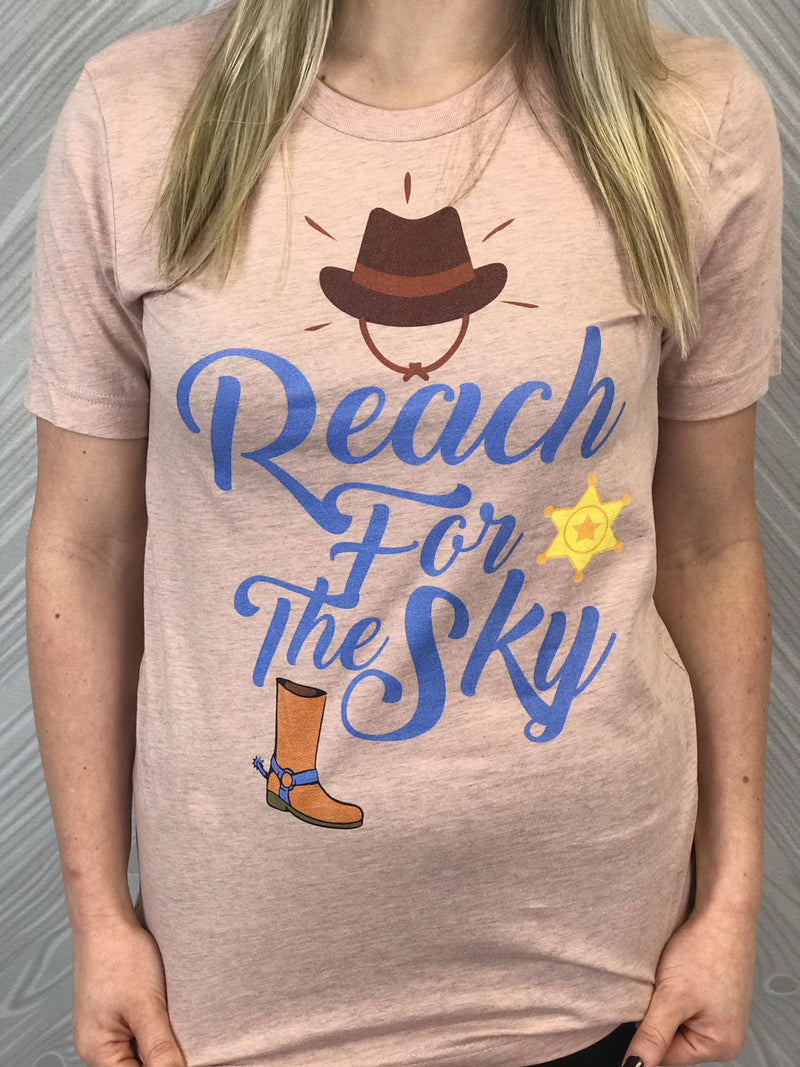 Reach For The Sky - Women's Short Sleeve Shirt - Ambrie