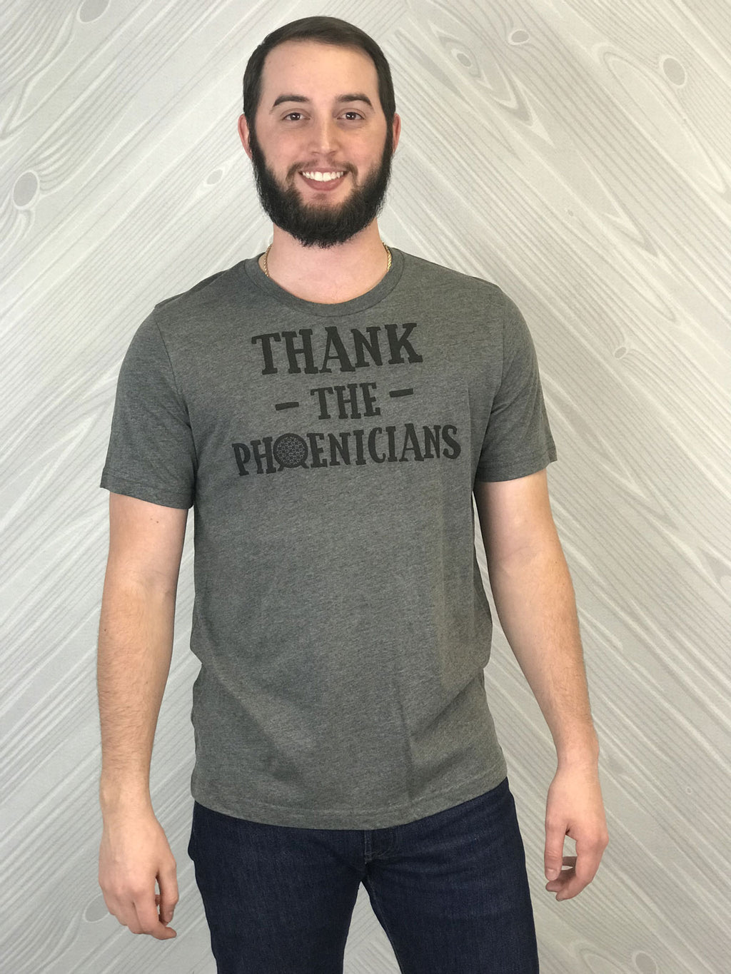 Thank The Phoenicians - Men's Short Sleeve Shirt - Ambrie