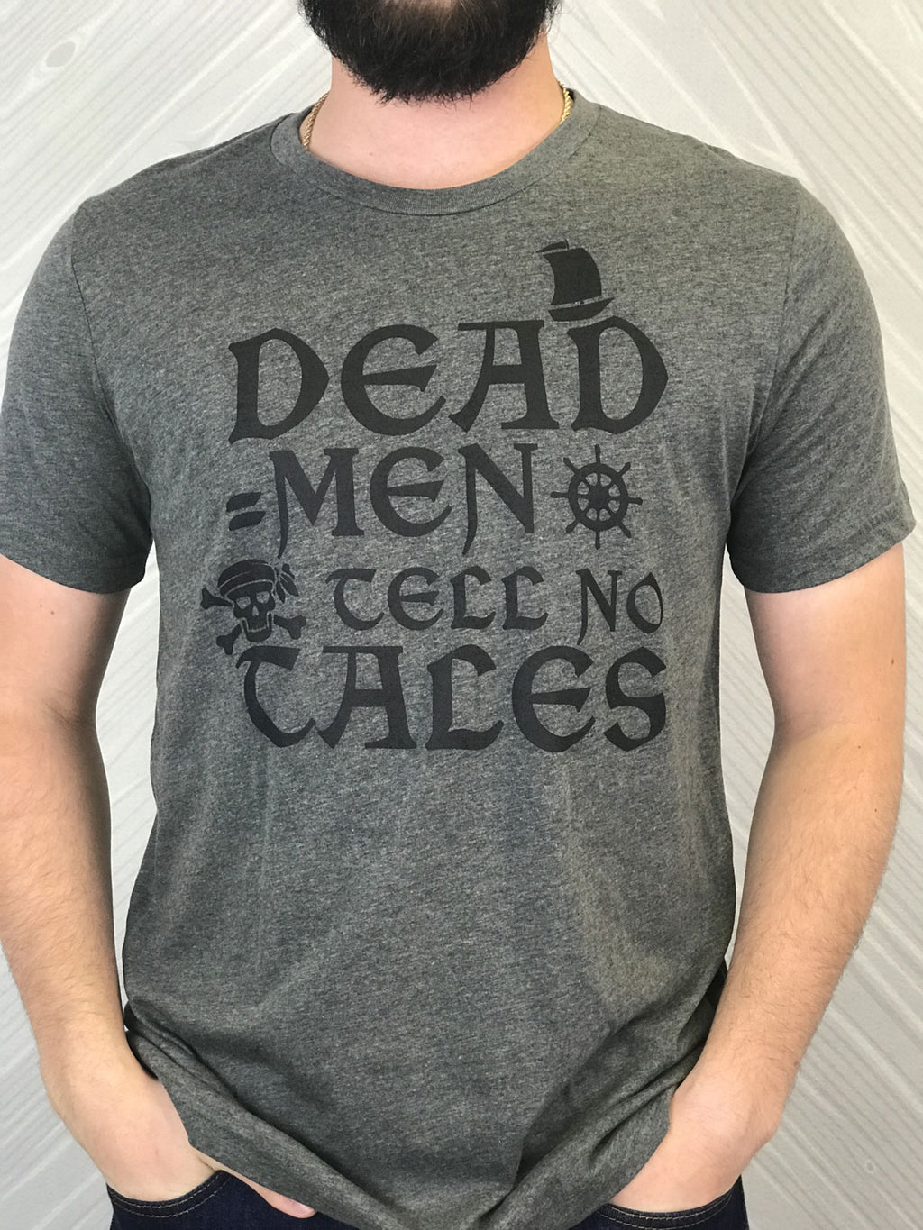 Dead Men Tell No Tales - Men's Short Sleeve Shirt - Ambrie