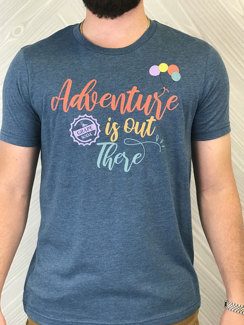 Adventure Is Out There - Men's Short Sleeve Shirt - Ambrie