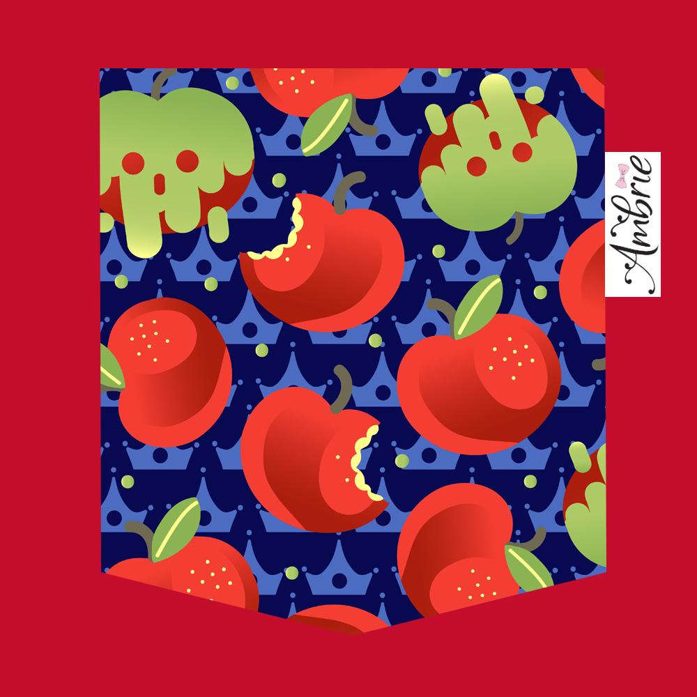 Bad Apple Pocket Tee - Ambrie