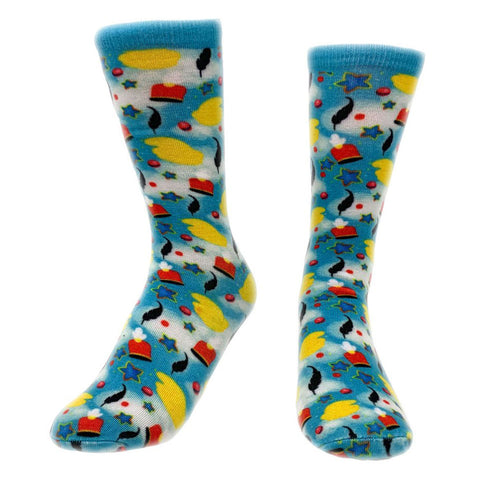 World Traveler Crew Socks