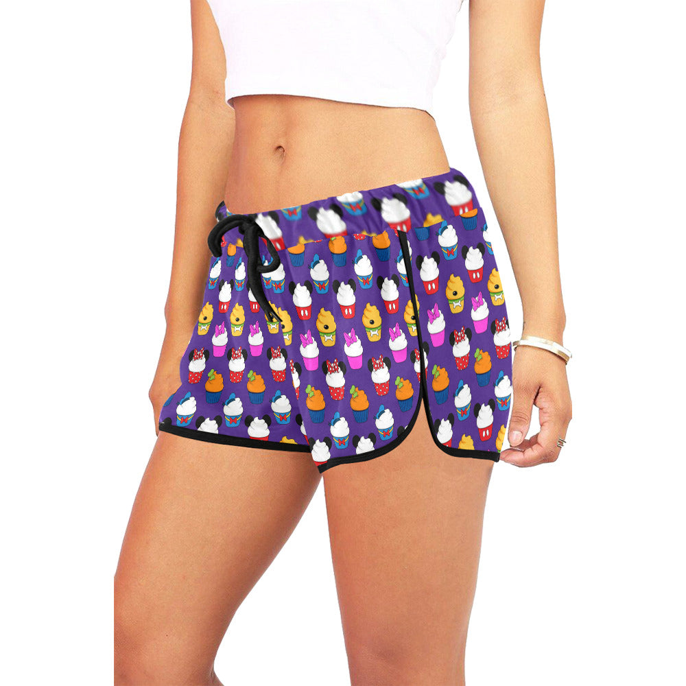 Fab 5 Cupcakes Women's Relaxed Shorts - PRESALE