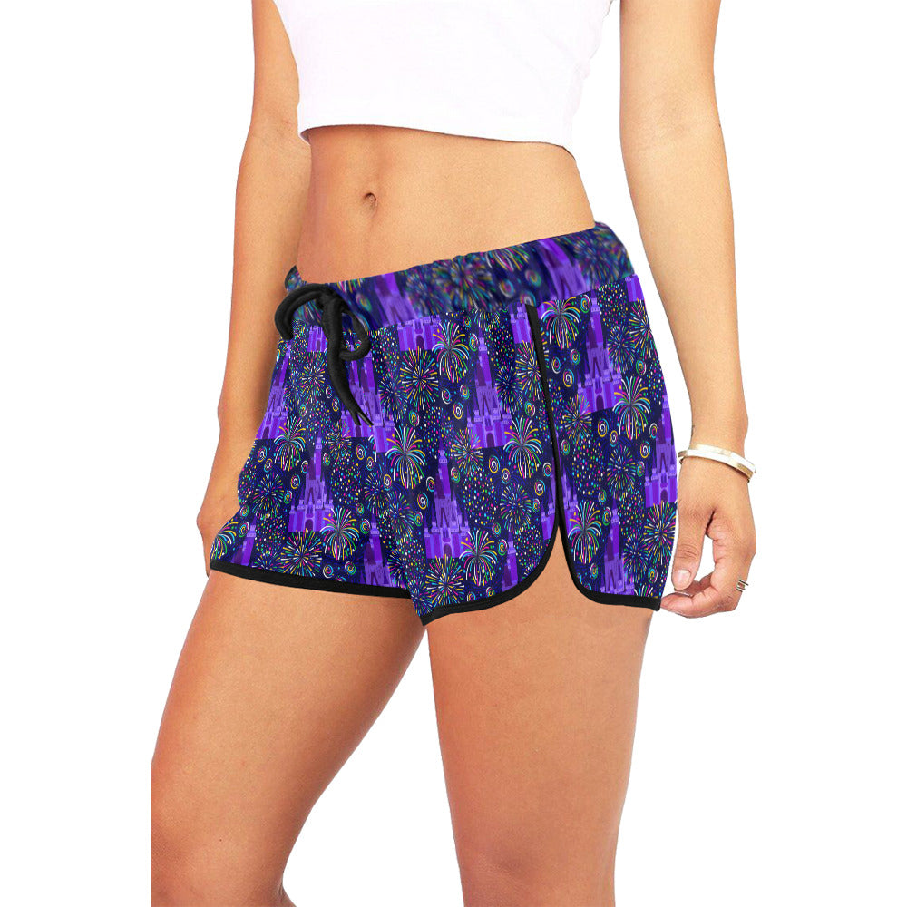 Castle Fireworks Women's Relaxed Shorts - PRESALE