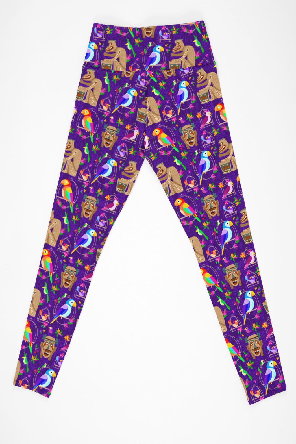 Tiki Plays The Drums Leggings With Pockets - Women's - PRESALE