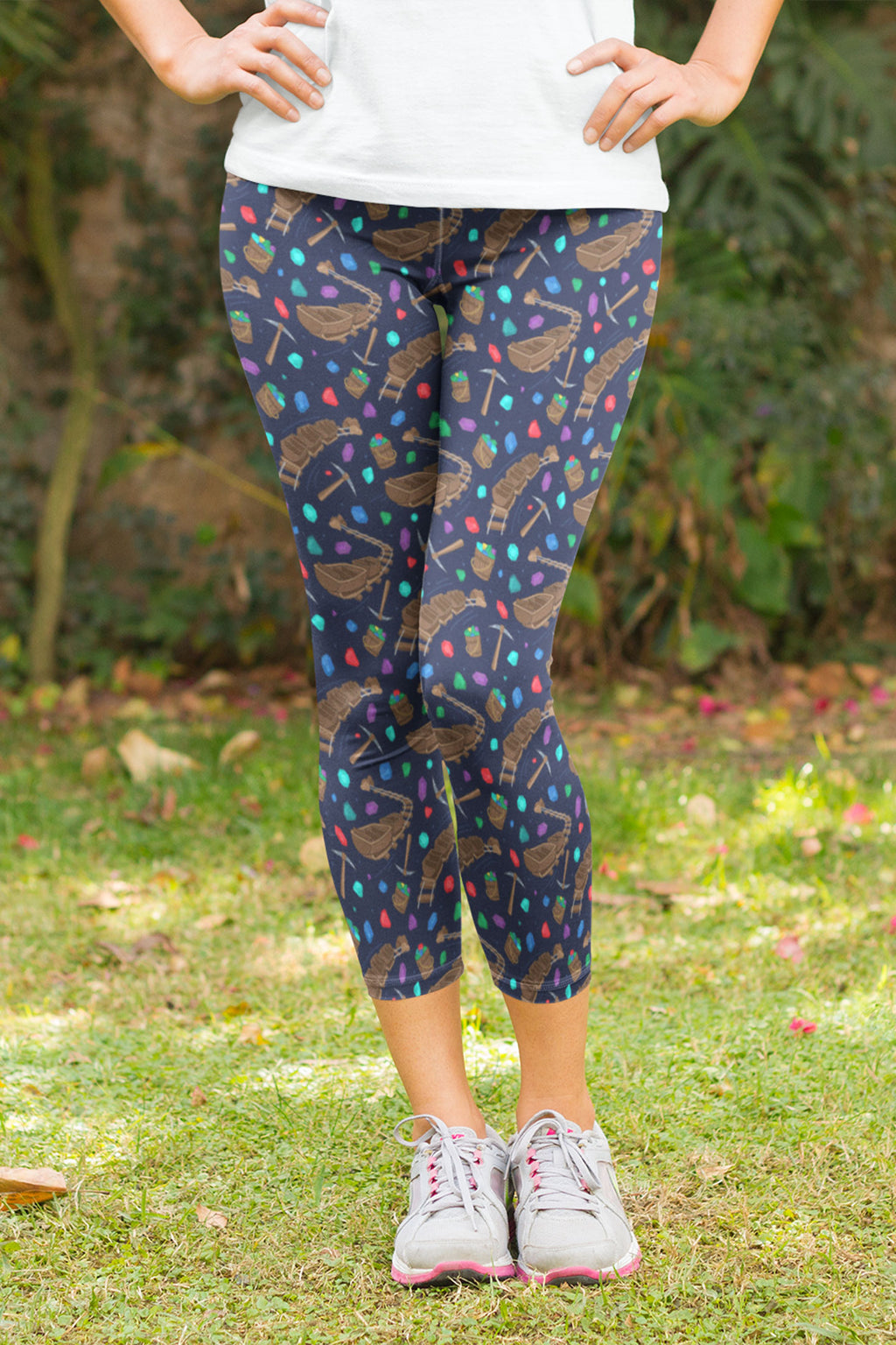 Mine Train Capri Leggings - Women's