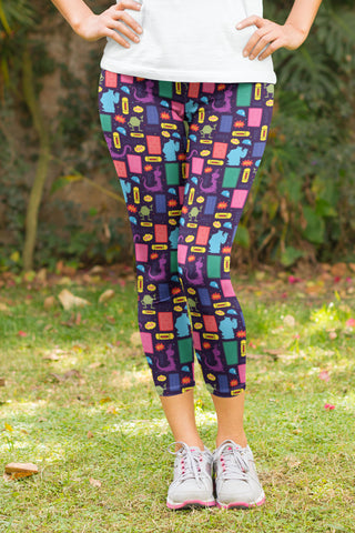 Ambrie Basset Hound Leggings - Kids