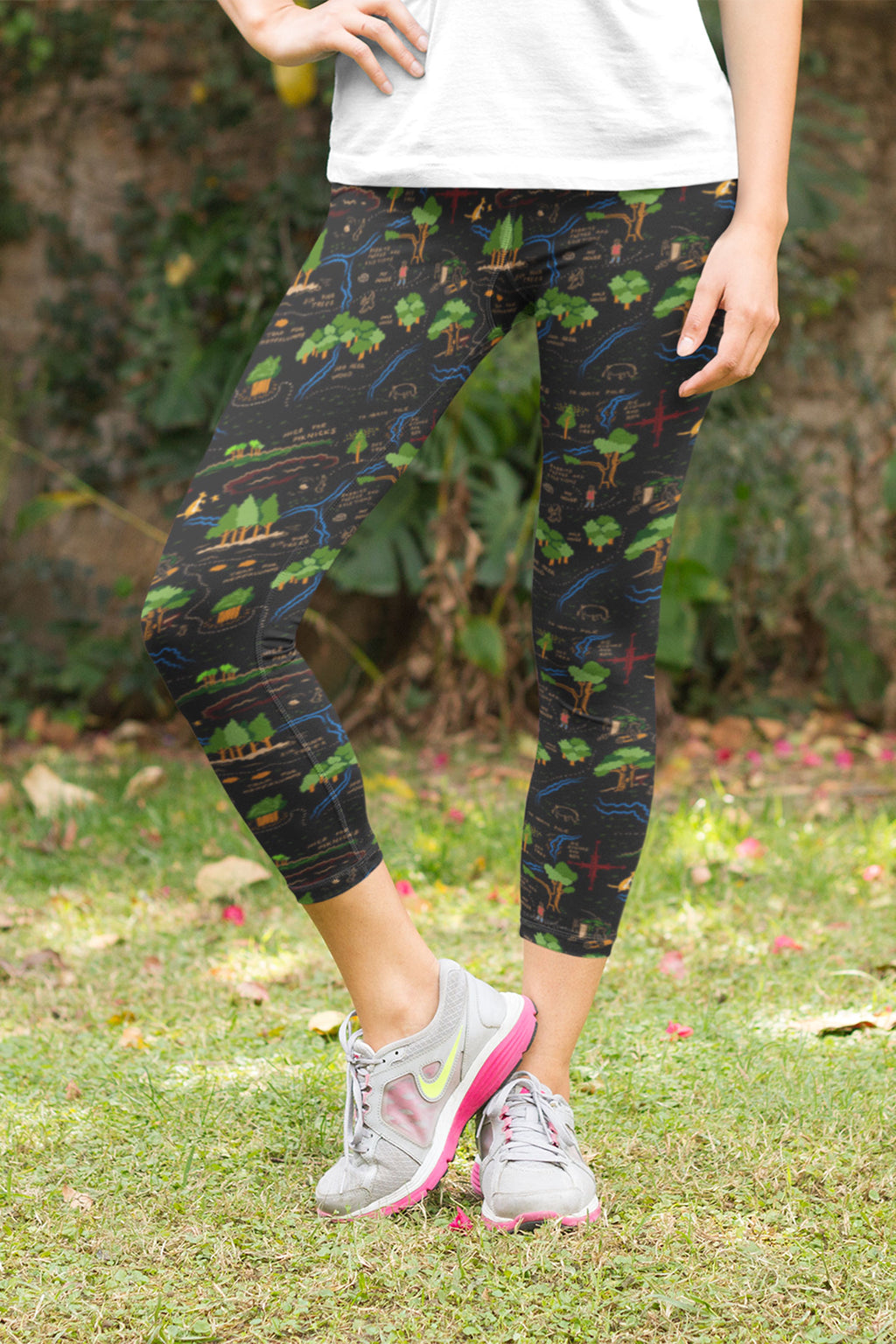 Magical Hair Capri Leggings - Women's