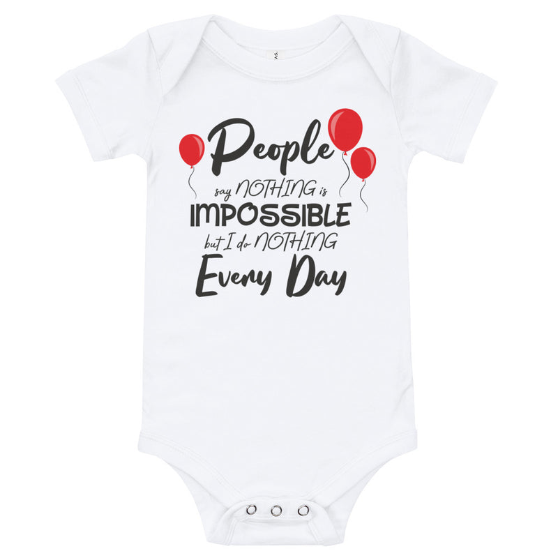 I Do Nothing Every Day - Baby Bodysuit - Ambrie