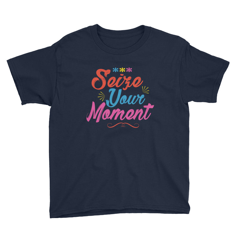 Seize Your Moment - Kids Shirt - Ambrie