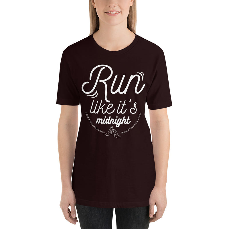 Run Like It's Midnight - Women's Short Sleeve Shirt - Ambrie