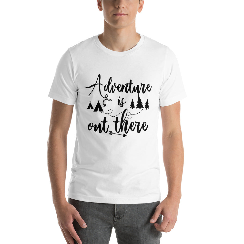 Adventure Is Out There - Men's Short Sleeve Shirt