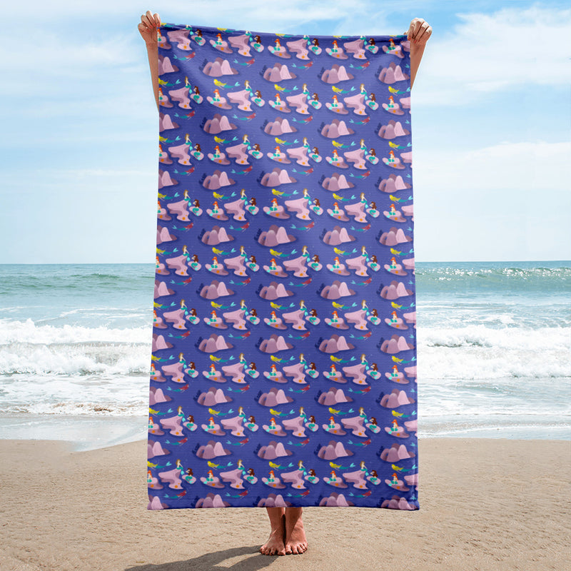 Mermaid Lagoon Towel - Ambrie