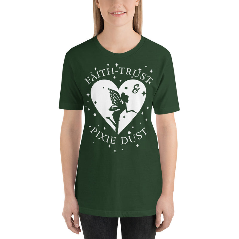Faith, Trust, And Pixie Dust - Women's Short Sleeve Shirt - Ambrie