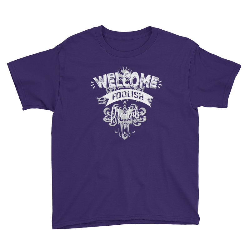 Welcome Foolish Mortals - Kids Shirt - Ambrie