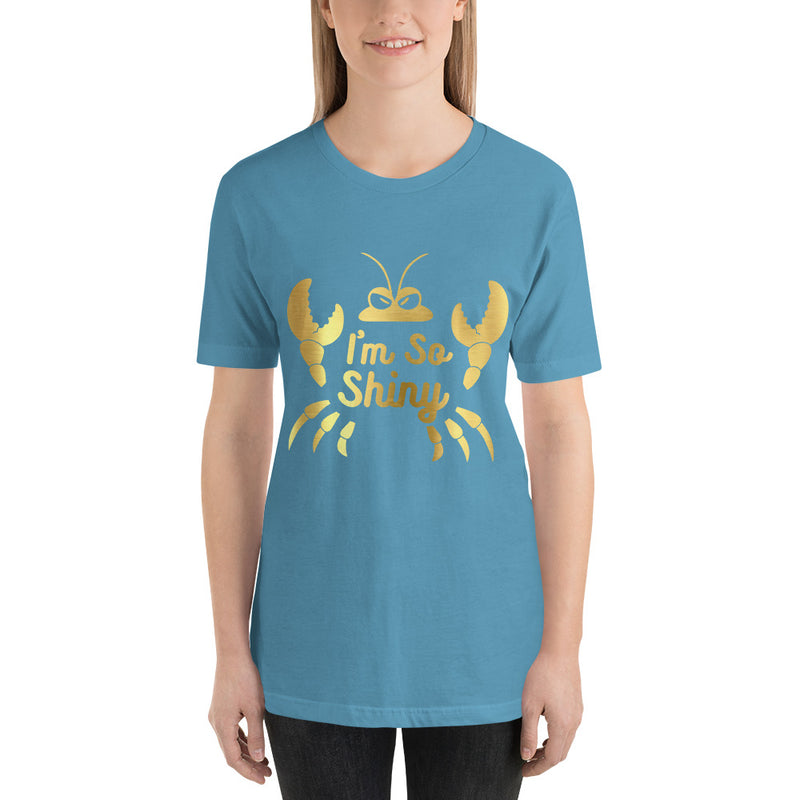 I'm So Shiny - Women's Short Sleeve Shirt - Ambrie