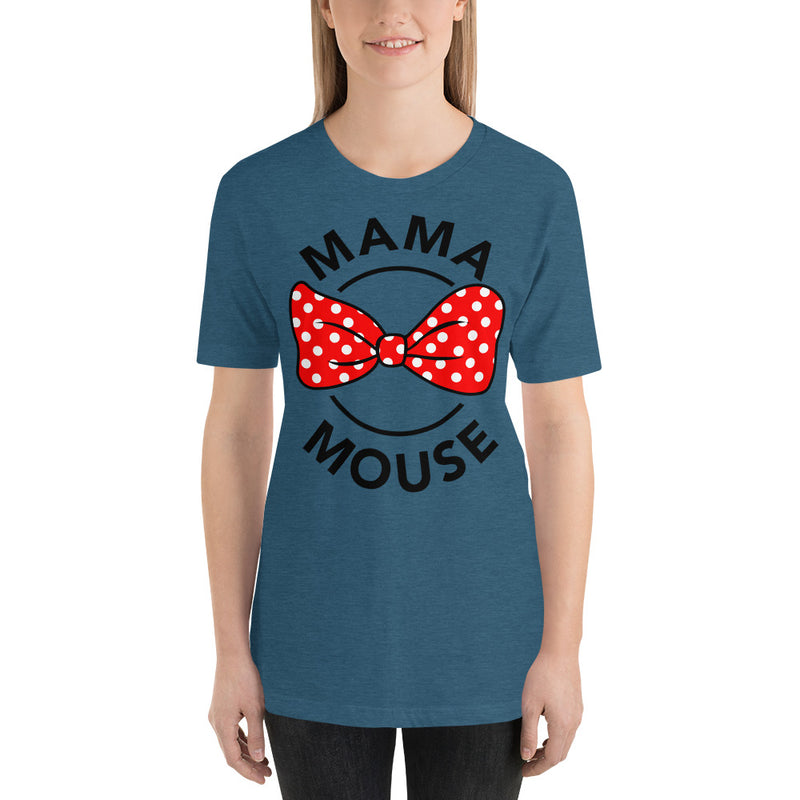 Mama Mouse - Women's Short Sleeve Shirt - Ambrie