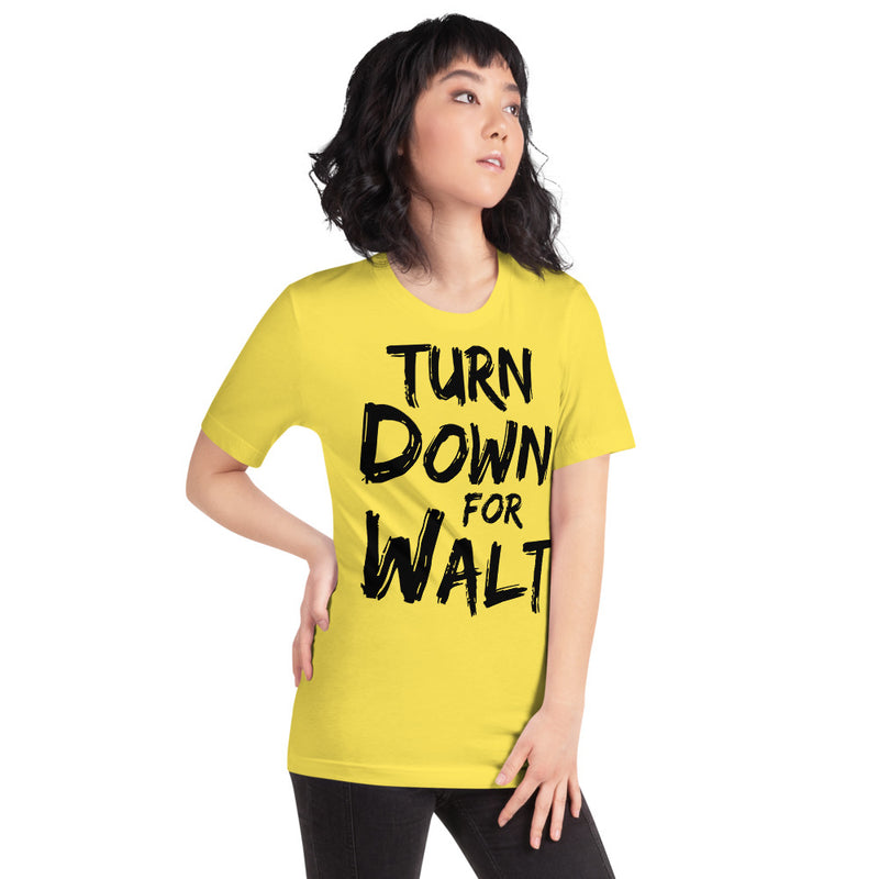 Turn Down For Walt - Women's Short Sleeve Shirt - Ambrie