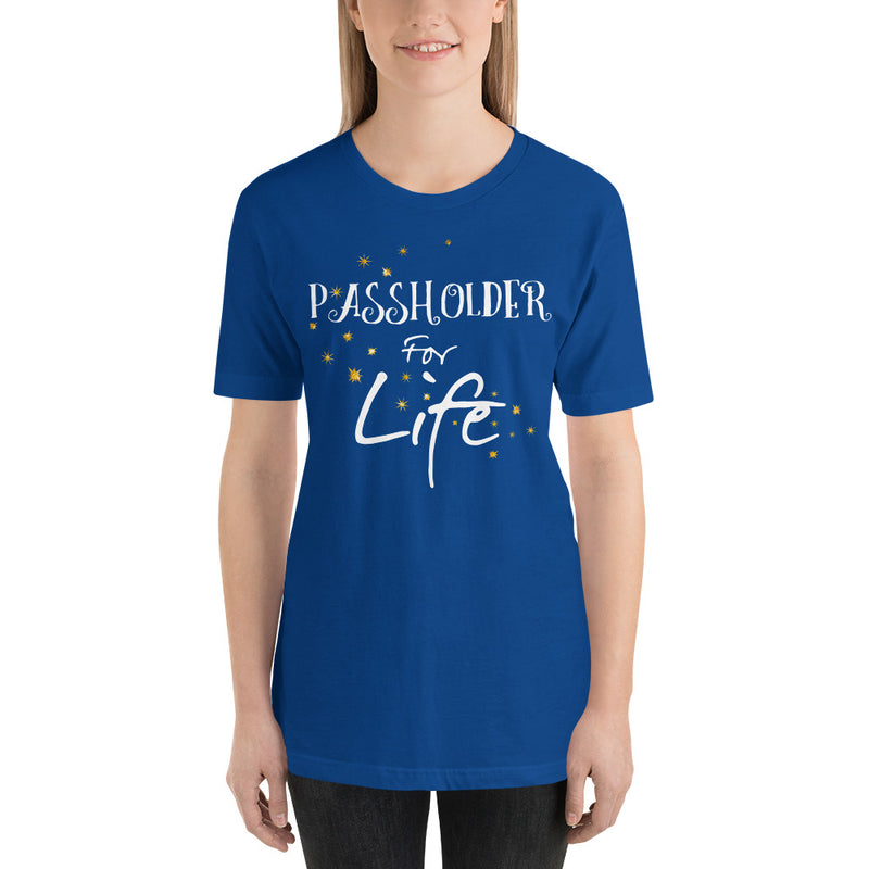 Passholder For Life - Women's Short Sleeve Shirt - Ambrie