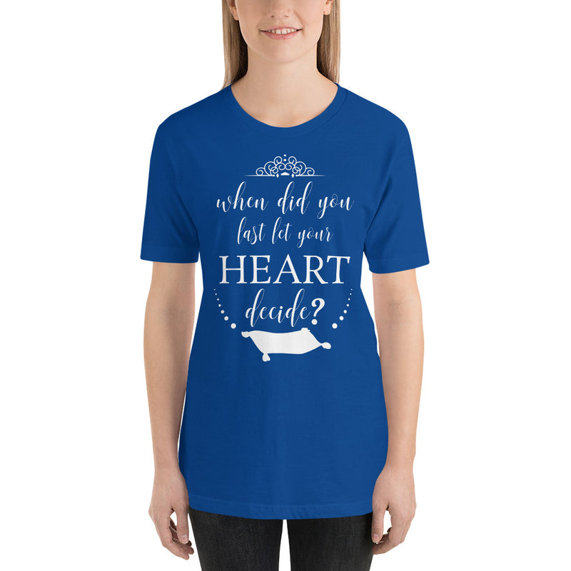 Let Your Heart Decide - Women's Short Sleeve Shirt