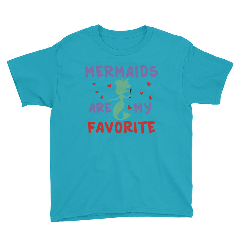 Mermaids Are My Favorite - Kids Shirt - Ambrie