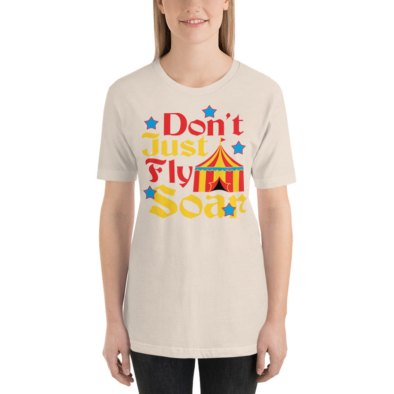 Don't Just Fly - Women's Short Sleeve Shirt - Ambrie