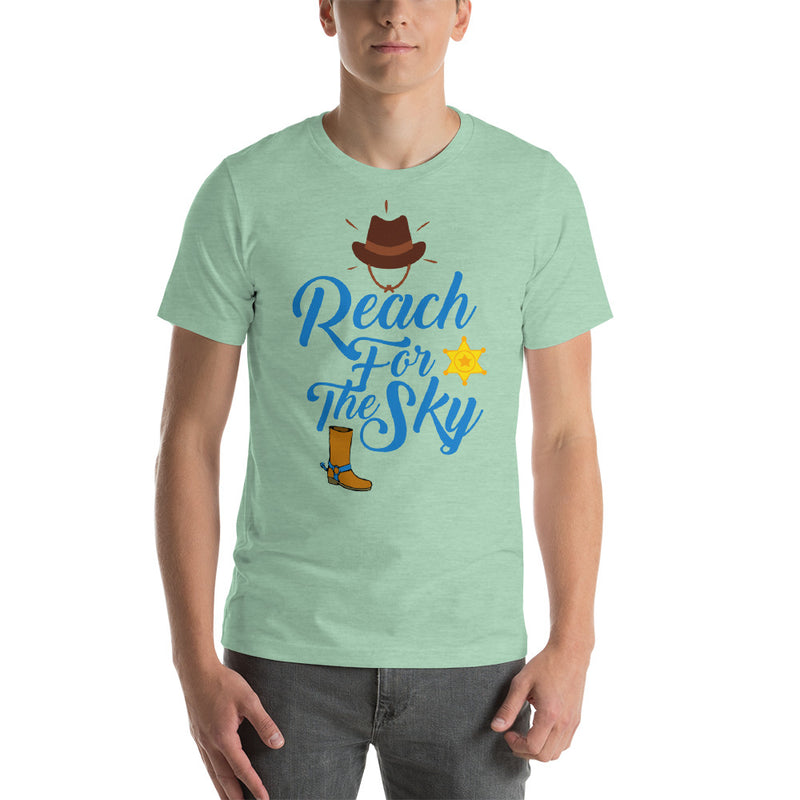 Reach For The Sky - Men's Short Sleeve Shirt - Ambrie