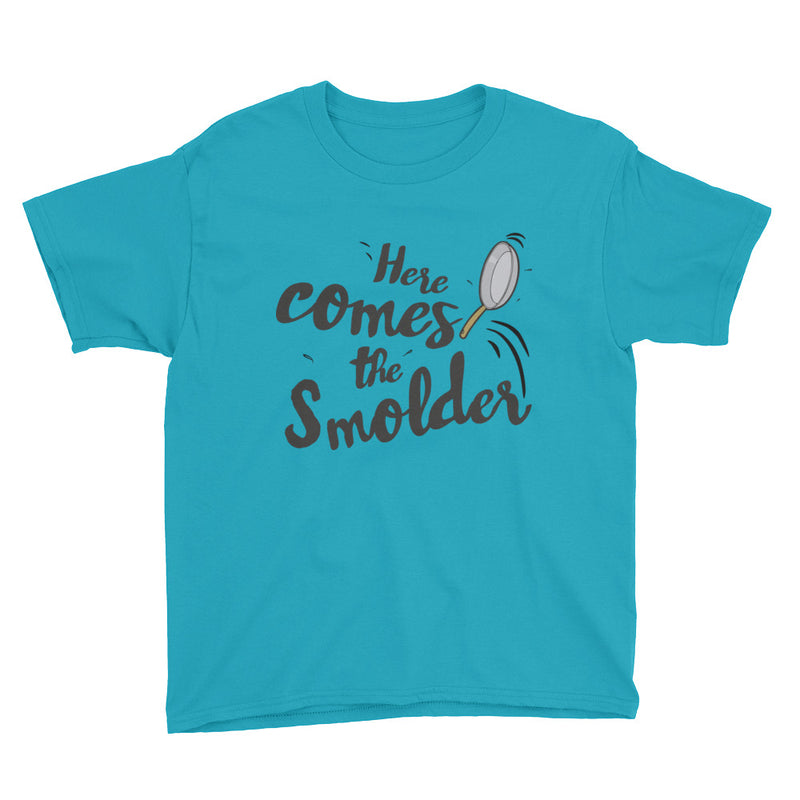 Here Comes The Smolder - Kids Shirt - Ambrie