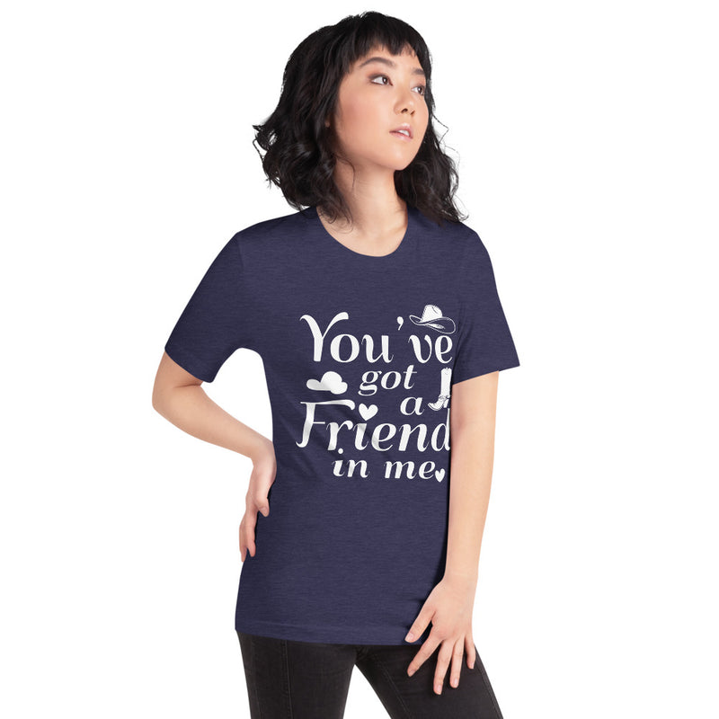 You've Got A Friend In Me - Women's Short Sleeve Shirt - Ambrie