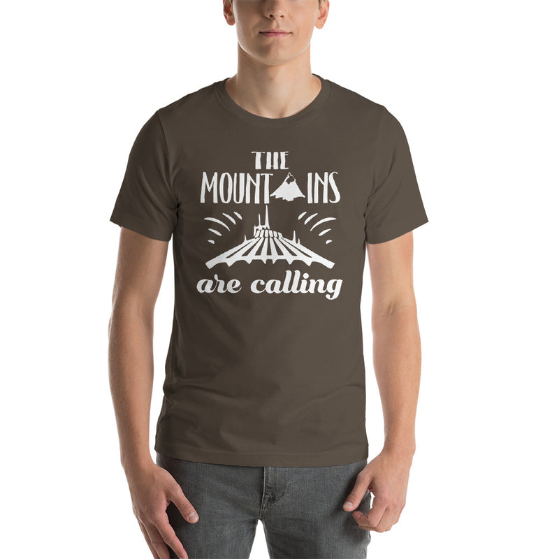 Mountains Are Calling - Men's Short Sleeve Shirt - Ambrie