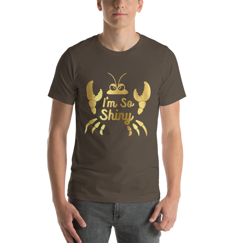 I'm So Shiny - Men's Short Sleeve Shirt - Ambrie