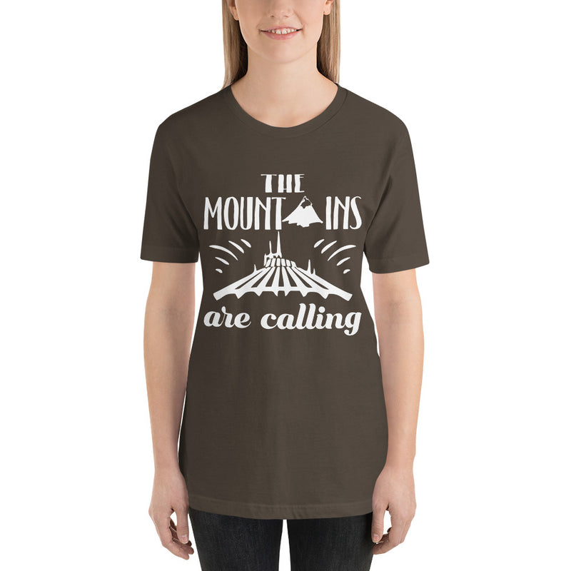 Mountains Are Calling - Women's Short Sleeve Shirt - Ambrie