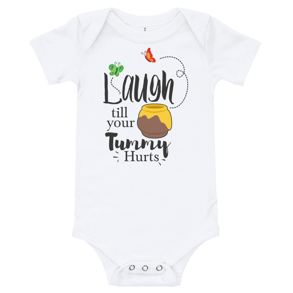 Laugh Till Your Tummy Hurts - Baby Bodysuit - Ambrie