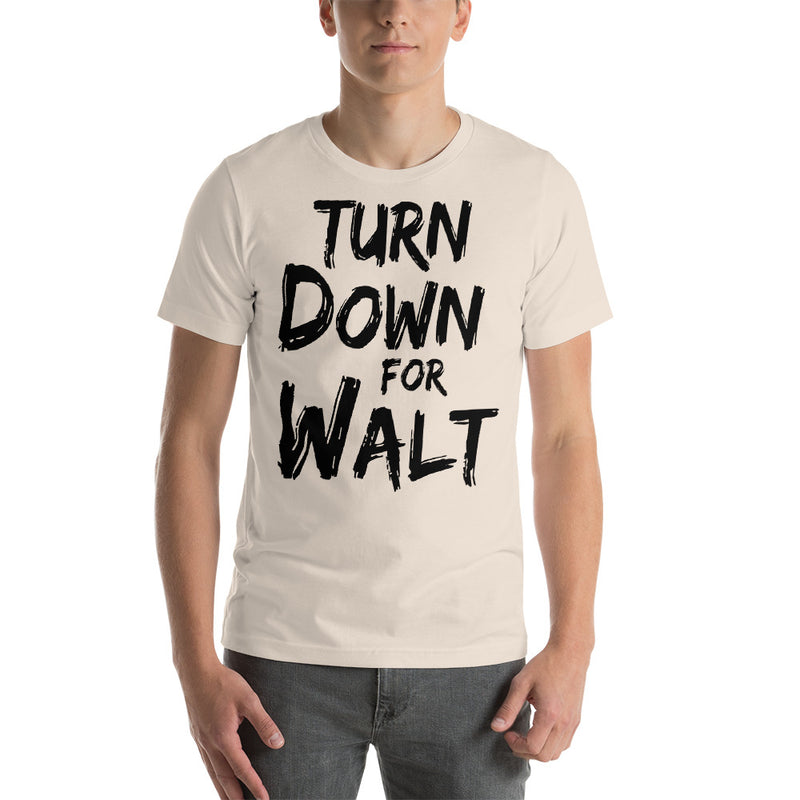 Turn Down For Walt - Men's Short Sleeve Shirt - Ambrie
