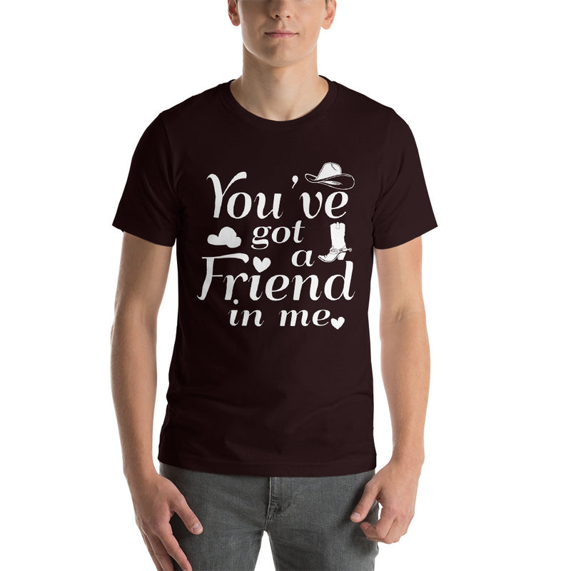You've Got A Friend In Me - Men's Short Sleeve Shirt - Ambrie