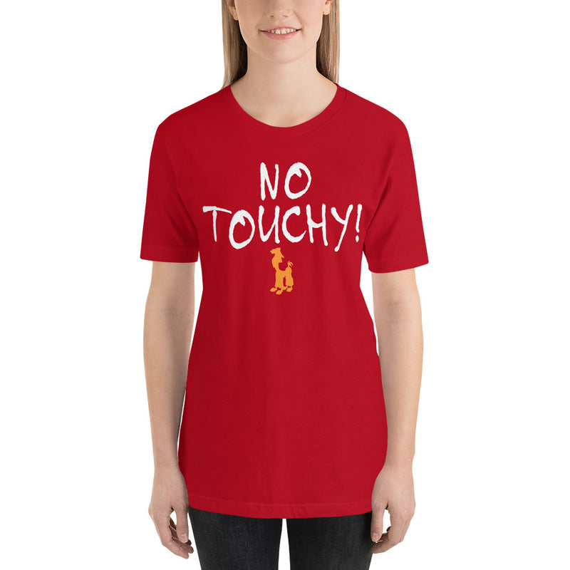 No Touchy - Women's Short Sleeve Shirt - Ambrie