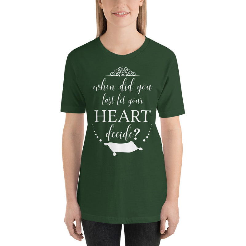 Let Your Heart Decide - Women's Short Sleeve Shirt - Ambrie