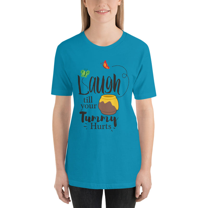 Laugh Till Your Tummy Hurts - Women's Short Sleeve Shirt - Ambrie