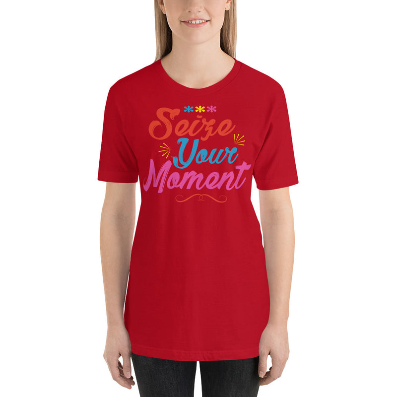 Seize Your Moment - Women's Short Sleeve Shirt - Ambrie
