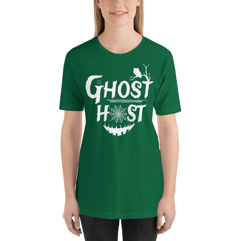 Ghost Host - Women's Short Sleeve Shirt - Ambrie
