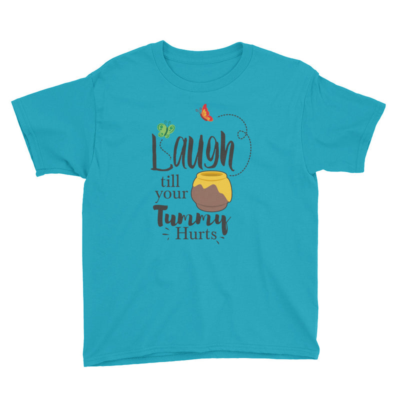 Laugh Till Your Tummy Hurts - Kids Shirt - Ambrie