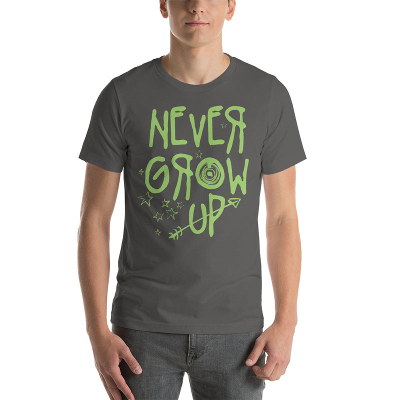 Never Grow Up - Men's Short Sleeve Shirt - Ambrie