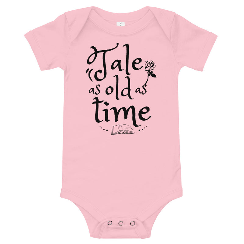 Baby Bodysuit - Tale As Old As Time - Ambrie