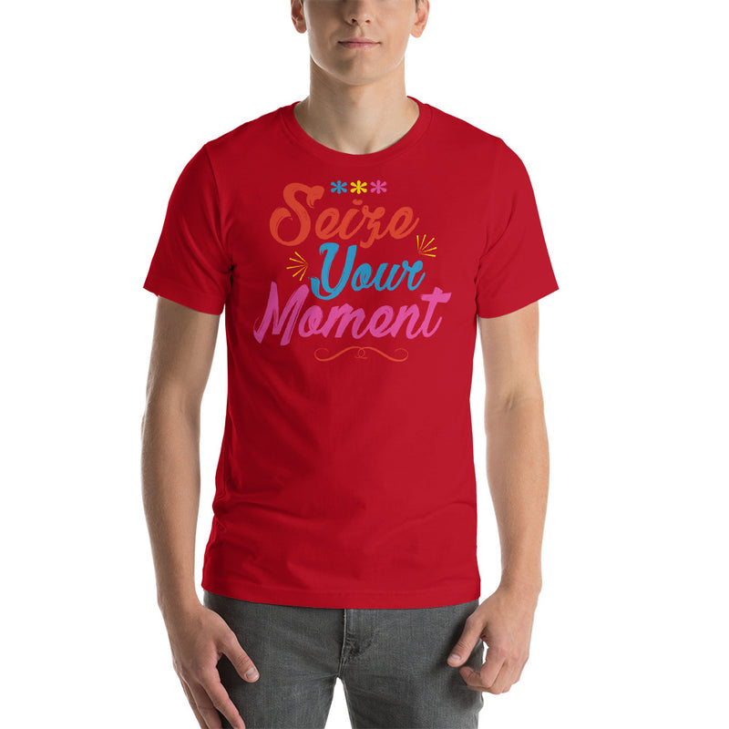 Men's Short Sleeve Shirt - Seize Your Moment - Ambrie